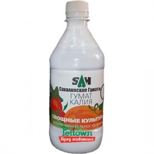 Гумат калия Сахалинские гуматы (0.5л) для овощей