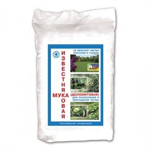 Известняковая (доломитовая) мука для раскисления и обогащения почвы (5кг)
