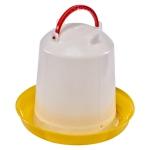 Вакуумная поилка 1 литр (желтая)