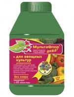Удобрение Мультифлор Аква для овощных, 250 мл