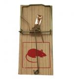 Ловушка Mr.Mouse механ. от мышей (дерево)