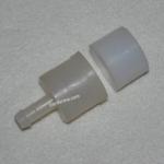 Штуцер и заглушка для трубы 25 мм