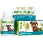Фитомины функц. корм с фитокомплексом для суставов для собак (50г/100 таб. по 0,5 гр)